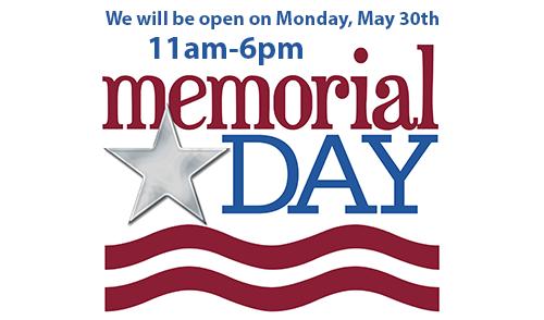 Open-memorial-day